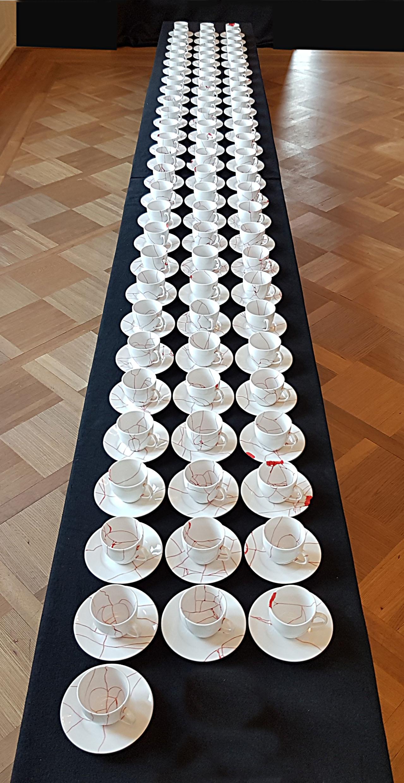 Dishes in Ausstellung