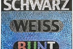 SCHWARZ WEISS BUNT