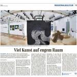 29.05.2012 Zürich Oberländer: Viel Kunst auf engem Raum