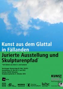 Kunst aus dem Glattal 2012 mit Piet Blanken